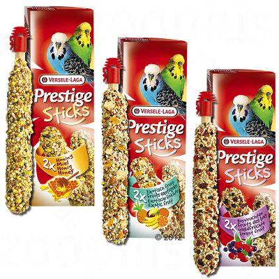 Bâtonnets pour perruche Prestige- 2 x 2  friandises au miel (60 g chacune)