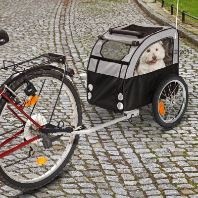 No Limit Doggy Liner 2 - Dog Bike Trailer - Hitch for 2nd bike