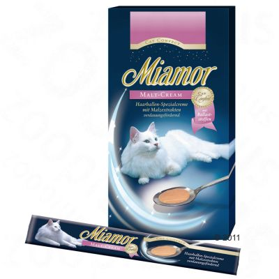 Miamor Cat Confect Malt-Cream - 6 x 15 g