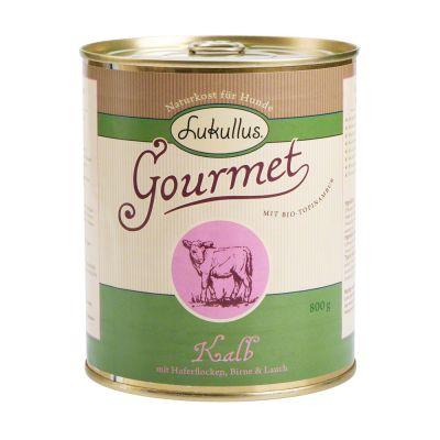 Lukullus Gourmet Veal with Oats, Pear & Leeks - 6 x 400 g