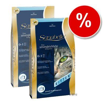Sanabelle Kitten - Economy Pack: 2 x 10 kg
