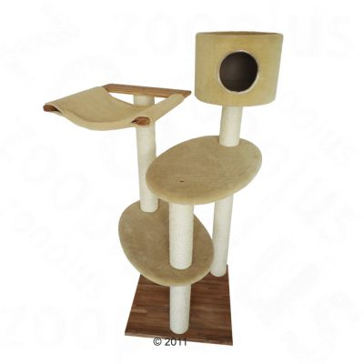Cat Tree Willow II - beige (3 packages*)