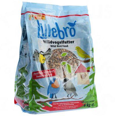 Lillebro Wild Bird Food - 3 x 4 kg
