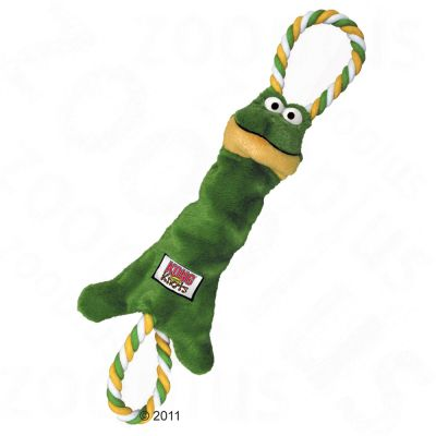 Kong Tugger Knots Frog - Small/Medium