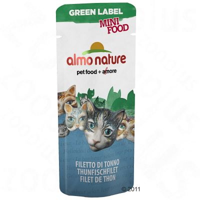 Almo Nature Green Label Mini Food 5 x 3 g - Tuna Fillet