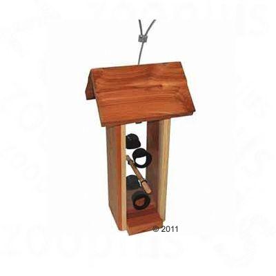Hintertux Silo Bird Feeder - 12.5 x 14 x 28 cm (L x W x H)