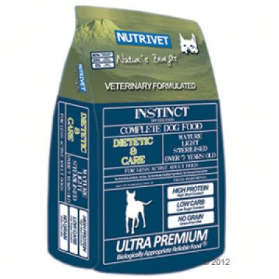 Nutrivet Instinct Dietetic & Care - 12 kg