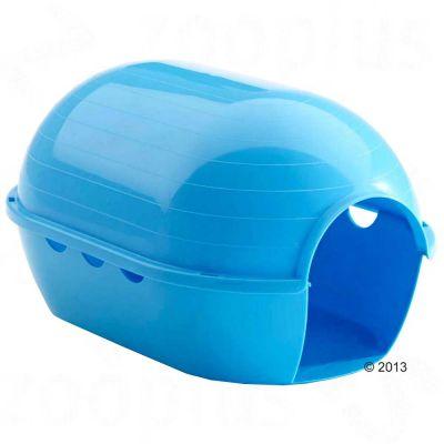 Maisonnette Rody Igloo pour rongeur - L 30,5 x l 19,5 x H 19,5 cm