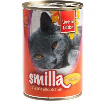 Limited Edition: Smilla Poultry Pots 6 x 400g - Tender Poultry with Rabbit