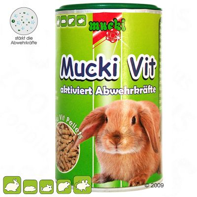 Mucki-Vit Preparation multivitaminee pour rongeur et lapin - 100 g