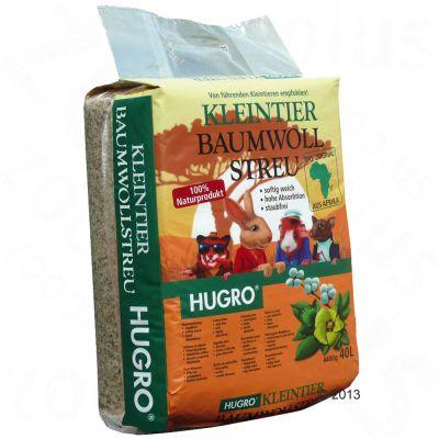 Litiere de coton Hugro pour rongeur - 40 L