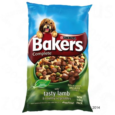 Bakers Complete Tasty Lamb & Country Vegetables - 14kg