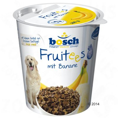 Bosch Finest Snack concept Bosch Fruitees (semi-moist), Banane - 200 g