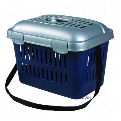 Cage de transport pour chien, chat et rongeur Capri- L 45 x l 33 x H 32 cm