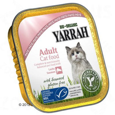 Yarrah Organic Wellness Pâté 6 x 100g - Beef with Chicory