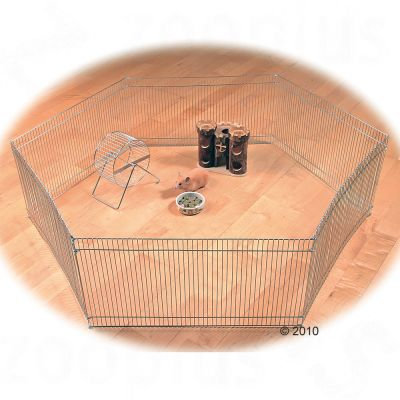 Trixie Small Pet Indoor Run - 6 Sided - 6 Elements, each 48 x 25 cm