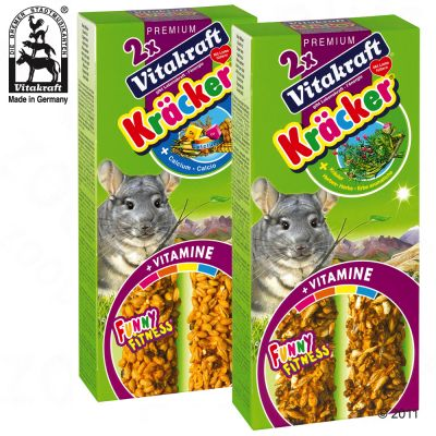 Vitakraft Chinchilla Cracker Multipack - 5 x Herb 2-packs