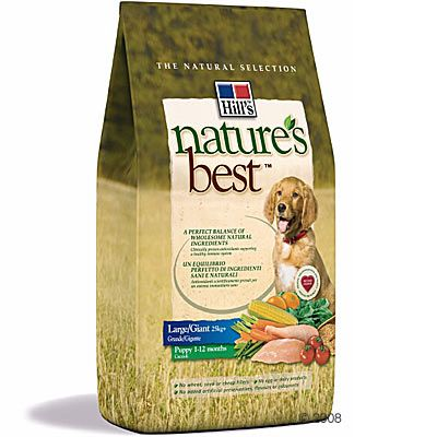 Hill´s Nature´s Best Canine Puppy Large / Giant Hundefutter – 2 kg