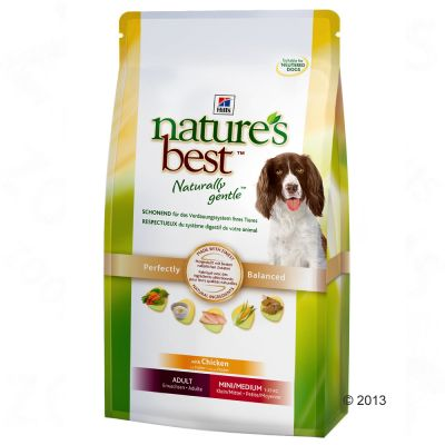 Hill's Nature's Best Adult Mini/Medium - Chicken - Economy Pack: 2 x 12kg