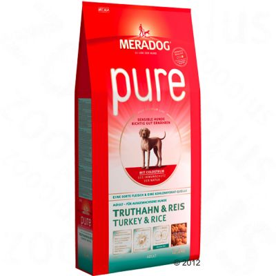 Mera Dog pure Turkey & Rice - Economy Pack: 2 x 12.5kg