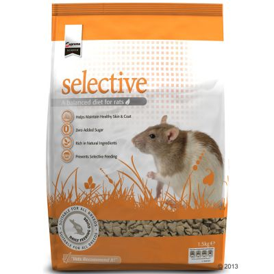 Supreme Science Selective pour rat - 2 x 1,5 kg