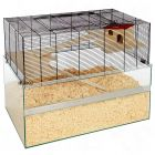 Falco Small Pet Cage - 100 x 50 x 75 cm (LxWxH) - Small Pet Supplies