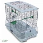 Hagen Vision II Bird Cage Model M02 - white M02: 61 x 38 x 88 cm  (L x W x H)
