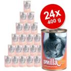 Smilla Poultry Pots Savings Pack 24 x 400 g - Tender Poultry with Beef