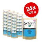 Schesir Pouch Savings Pack 24 x 100 g - Adult Tuna