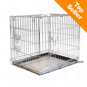 Gabbia per cani Double Door - L 63 x ...