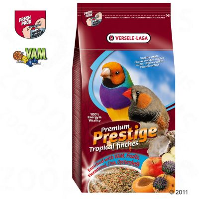 Prestige Premium Exotics/Tropical Birds - Economy Pack: 2 x 1 kg