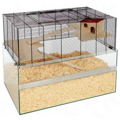Falco Small Pet Cage - 100 x 50 x 75 cm (L x W x H)