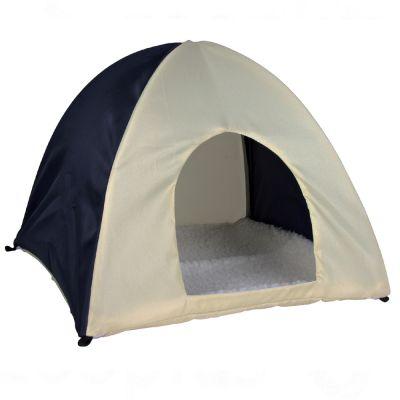 Tente pour rongeur - L 37 x l 37 x H 35 cm (pour lapin)