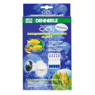 Dennerle Profi-Line CO2 Long-Term Test Correct - Refill Pack 5 Ampullas Special-Indicator