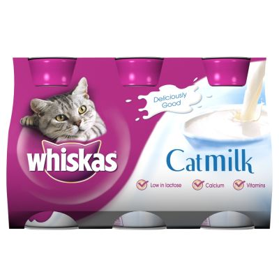 Megapack Whiskas Cat Milk 3 Pack - Saver Pack: 2 x 600ml