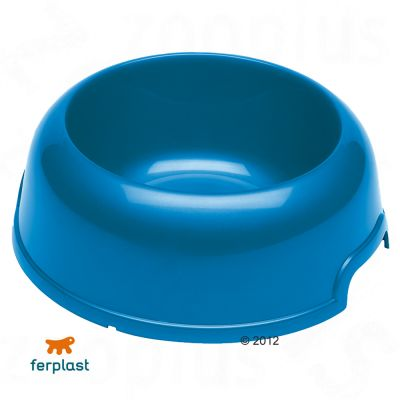 Ferplast Plastic Food Bowl Party, 0.5 l - red