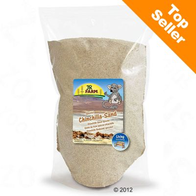 Sable de bain special pour chinchilla JR Farm - 2 x 4 kg