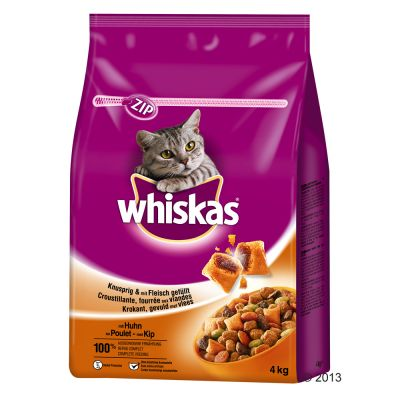 Whiskas Adult Chicken - Economy Pack: 2 x 4kg