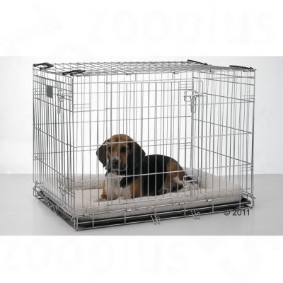 Savic Dog Cage Residence with Cushion - 76 x 53 x 61 cm (L x W x H)