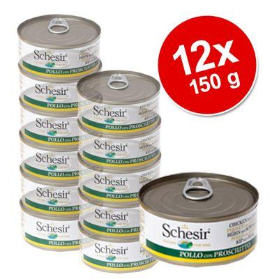 Schesir Adult  Value Pack 12 x 150 g - Chicken