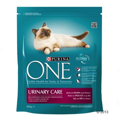 Purina ONE Urinary Care - Chicken & Wheat - Economy Pack: 4 x 800g