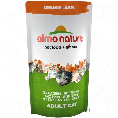 Almo Nature Dry Cat Food Adult Turkey - Economy Pack: 5 x 750 g
