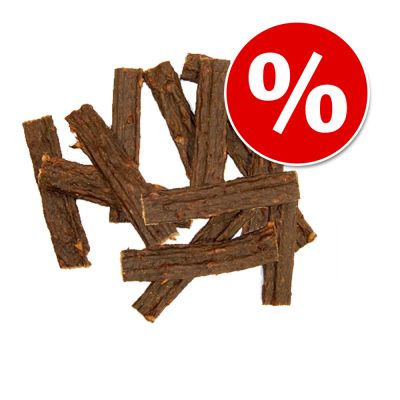 CANIBIT Hirsch Fleischstreifen 150 g + 50 g gratis - 150 g + 50 g gratis