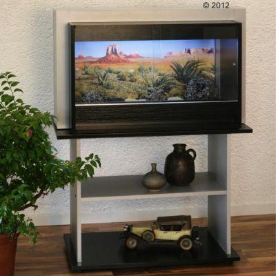 Terrarium et sous-meuble Kenia B&S 100 H- L 96 x  l 50 x  H 108 cm