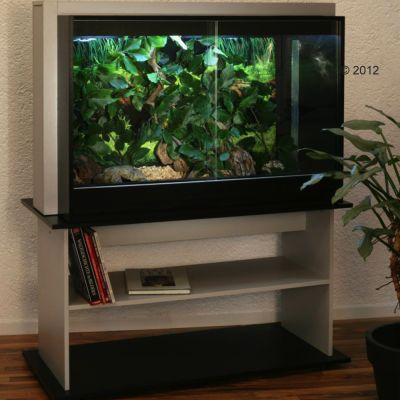 Terrarium et sous-meuble Kenia B&S 120 H- L 116 x l 60 x H 158 cm