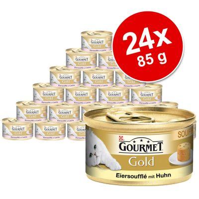 24 x 85 g Gourmet Gold Soufflé - - Salmone