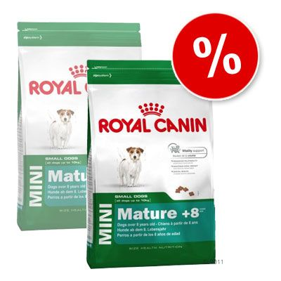 Royal Canin Mini Mature +8 - Economy Pack: 2 x 8 kg