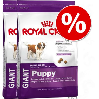 Royal Canin Size Economy Packs - Giant Puppy 2 x 15kg