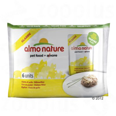 Almo Nature Classic Pouch 6 x 55g - Chicken Fillet