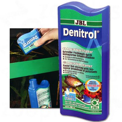 JBL Denitrol Bacteria Starter Concentrate - 250 ml for 7500 l